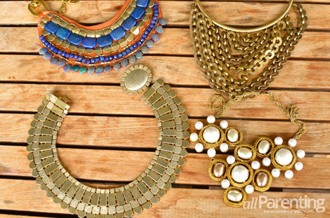 Hollywood Housewife statement necklaces