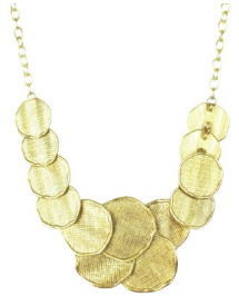 Target Gold Irregular Necklace