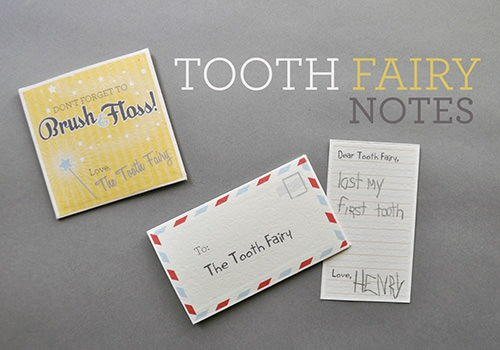 Tooth fairy notes