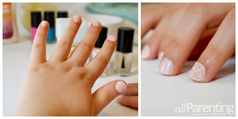 allParenting tween microbead nail collage
