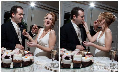 MAureen wedding cake exchange
