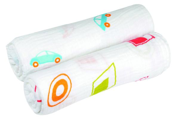 Aura Weavers muslin blankets