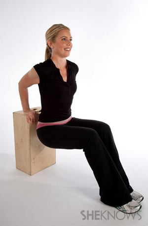 Seated dips: