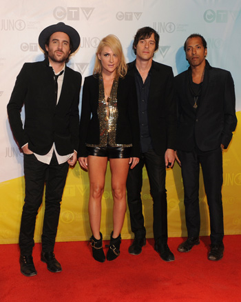 Metric at the 2013 Juno Awards
