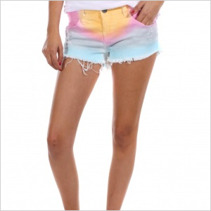 Billabong Rainbow Cut Off Shorts