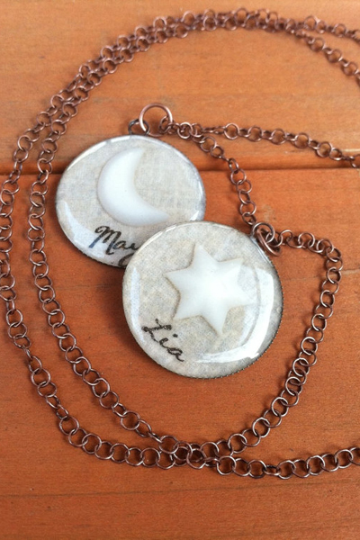 Breastmilk pendant necklace - Mom Jewelry
