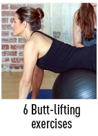 butt-lifting exercises