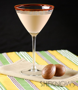Caramel Cadbury Egg Martini