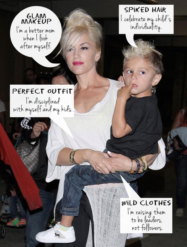 Celebrity mom: Gwen Stefani