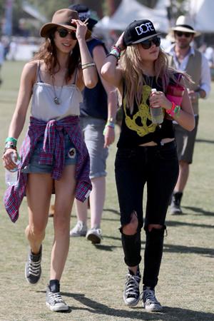 Ashley Benson at Coachella