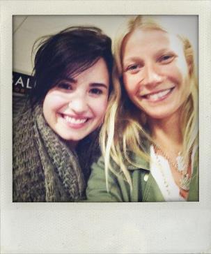 Gwyneth Paltrow and Demi Lovato
