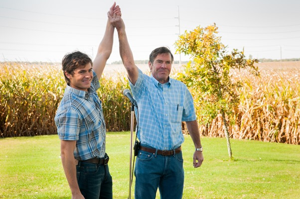 Dennis Quaid and Zac Efron, At Any Price