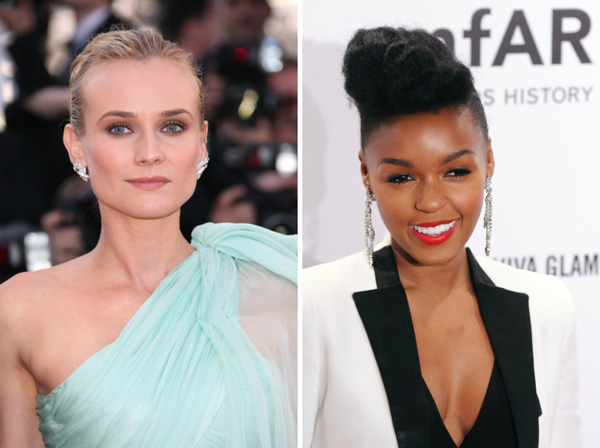 Diane Kruger and Janelle Monae