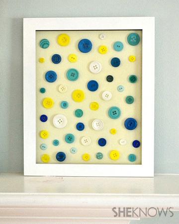Button frame artwork