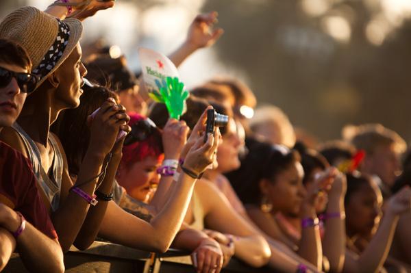 Fans at Coachella