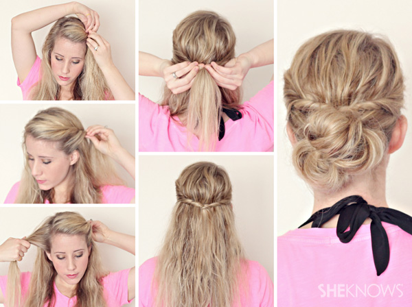 Awesome Quickandeasyhairstylesforschool2013cutequickhairstyles