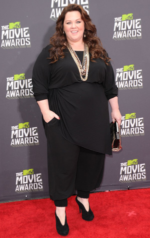 Melissa McCarthy at the MTV Movie Awards