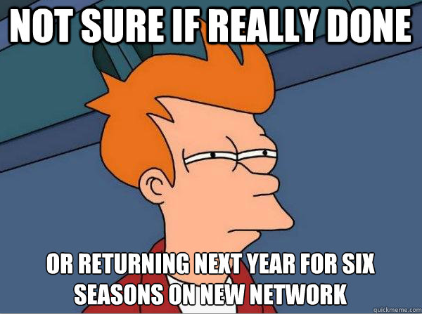 Futurama cancelled again