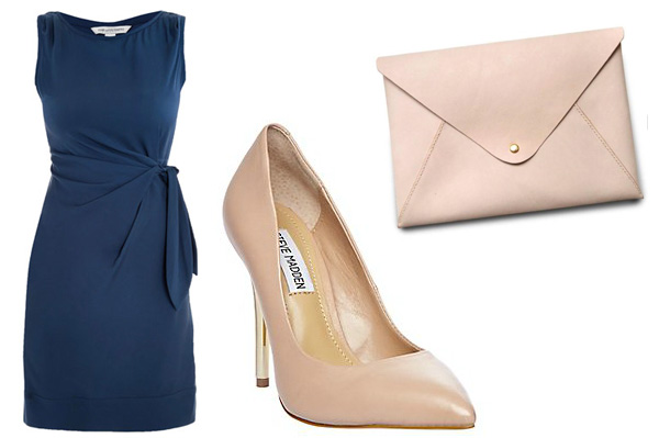Monaco blue and blush