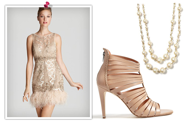 If you're ready to strut your stuff in full on Gatsby inspired, 1920s flapper attire, we definitely have the dress for you! If you want to stick with the