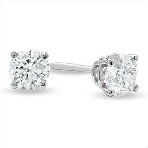Diamond studs- for her