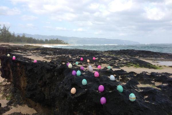 Heidi Klum Easter eggs