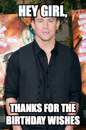 Channing Tatum turns 33