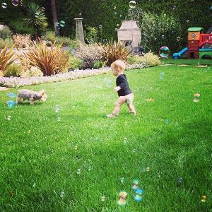 Hilary Duff's son Luca
