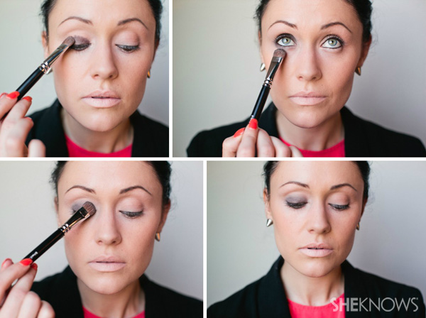 How to create a bronze smoky eye