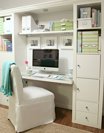 I Heart Organizing home office