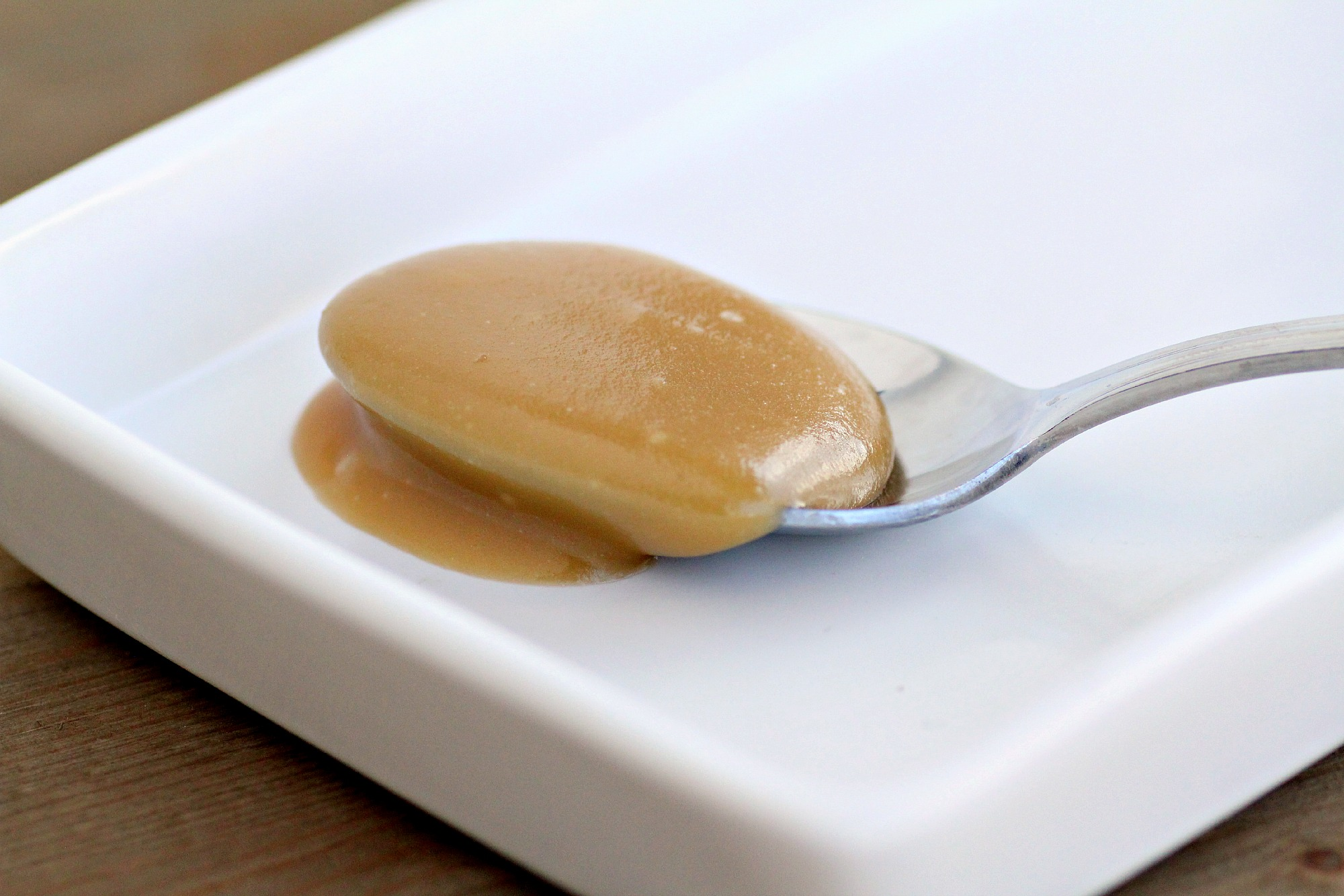 make your own caramel sauce in the microwave