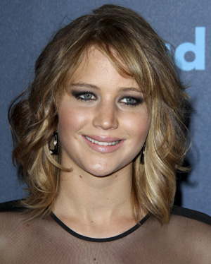 Jennifer Lawrence showed off a new, shorter hairstyle over the weekend