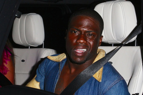 Kevin Hart admits driving drunk to police