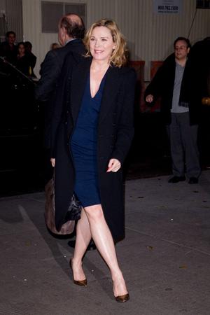 Kim Cattrall At Film Screening