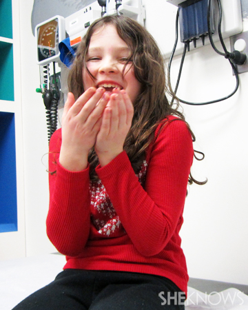 Lauren at the doctor