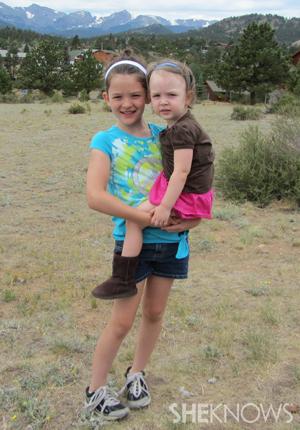 Lauren and Willow in Colorado