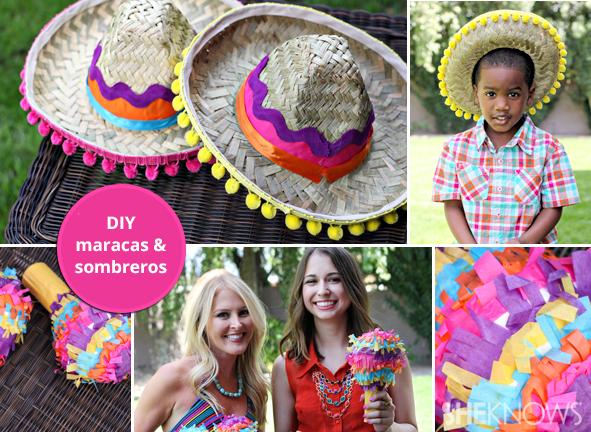 maracas and sombreros