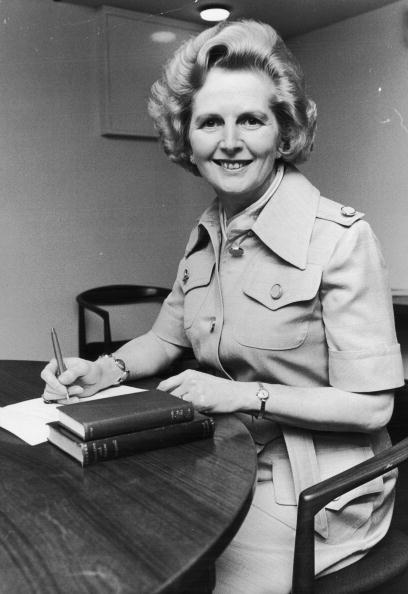 Margaret Thatcher in 1975