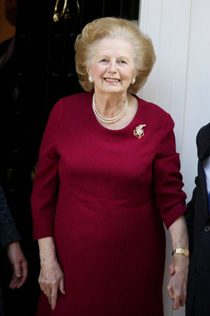 """Former PM and """"Iron Lady"""" passed away"""
