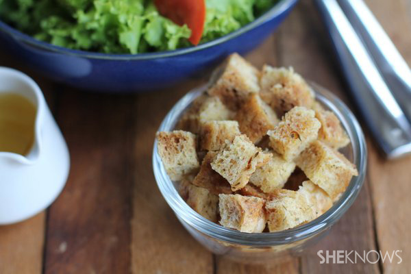 Croutons made in watermark