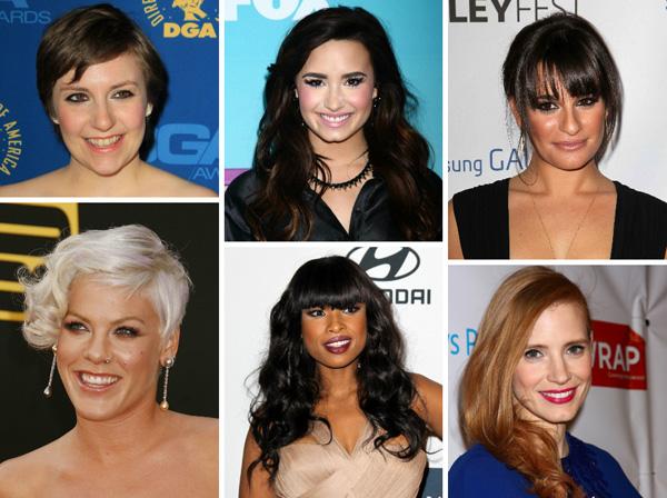 Celebrity beauty role models