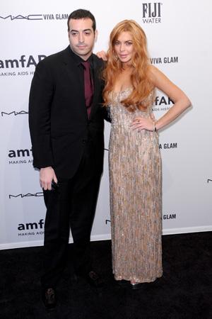 Mohammed Al Turki and Lindsay Lohan