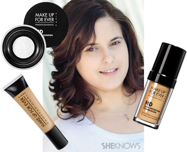 Liz Schluter Makeup Step 1