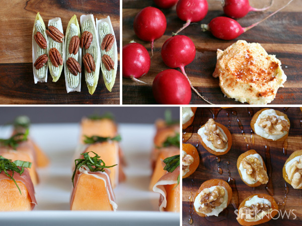 Quick canapes for the busy hostess meizitang strong version for Quick canape ideas