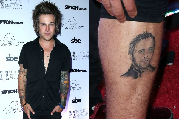 Ryan has a Ryan on his leg — but which one?