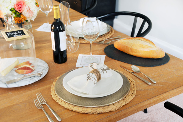 Table decor from House of Earnest