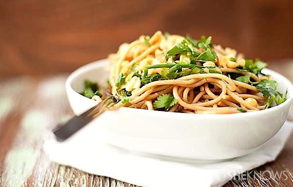 Spicy Thai peanut noodles recipe