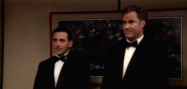 Steve Carell and Will Ferrell