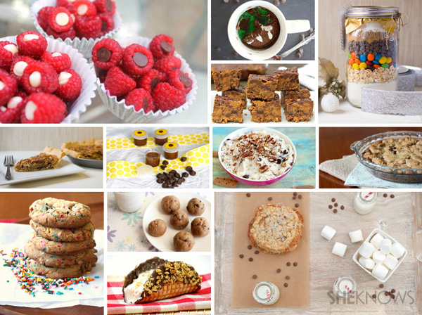 12 recipes with chocolate chips