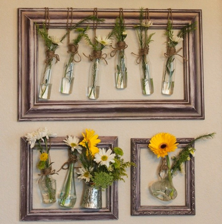 upcycle old picture frames
